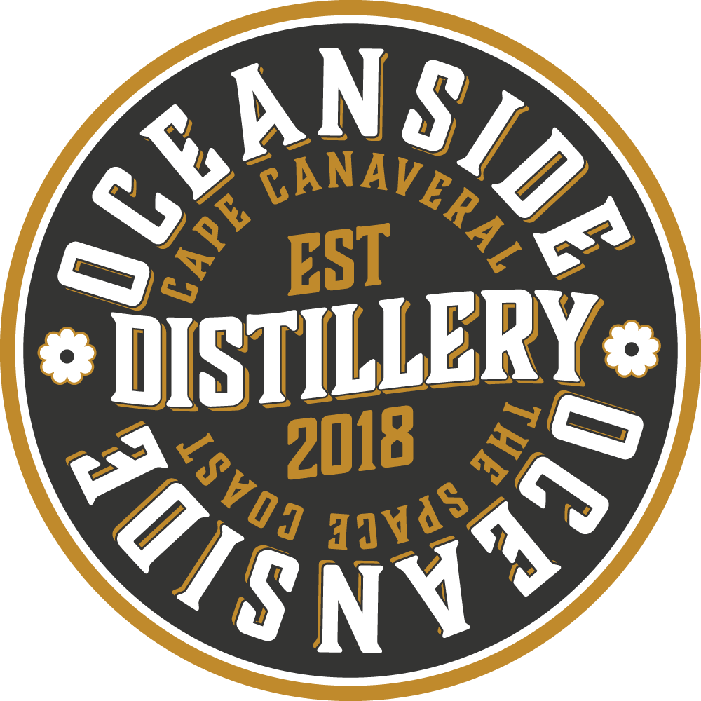 Oceanside Distillery New Logo - Things to do in Cocoa Beach