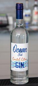 Ocean Club Coastal Citrus Gin Distilled at Oceanside Distillery in Cape Canaveral FL