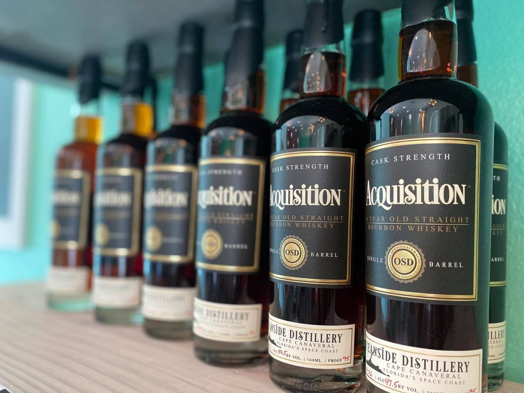 Acquisition Florida Bourbon Whiskey from Oceanside Distillery, Made Fresh from Florida in Cape Canaveral