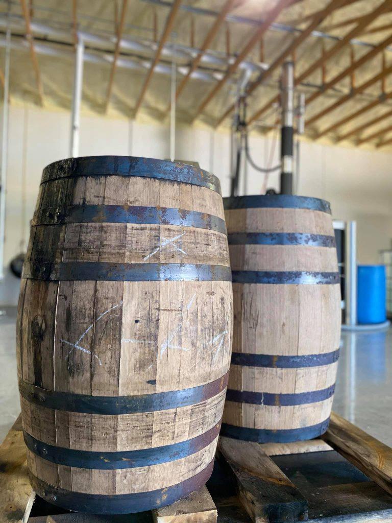Oceanside Distillery Cocoa Beach FL Whiskey Barrels - Locally Distilled Liquor
